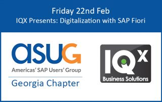 ASUG Georgia Chapter Meeting