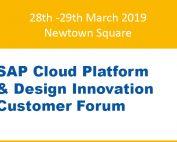 SAP Cloud Platform & Design Innovation Customer Forum Newtown