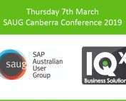 SAUG Canberra Conference
