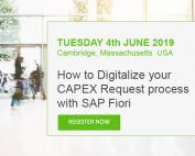 How to Digitalize your CAPEX Request process with SAP Fiori