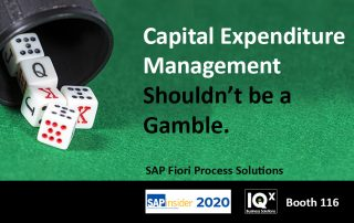 Capital Expenditure Management
