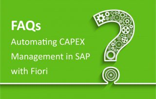 FAQs CAPEX with Fiori
