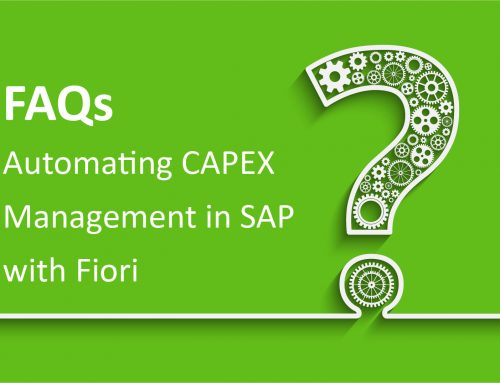 FAQs for CAPEX with SAP Fiori
