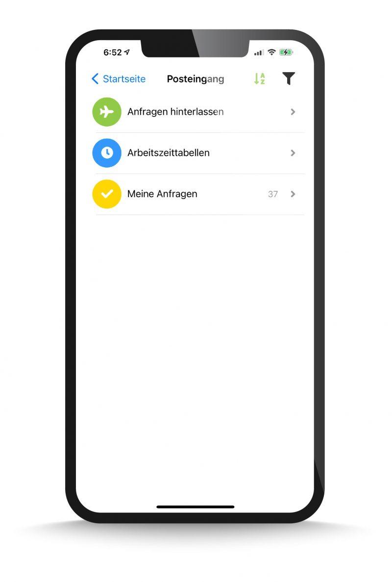 OneList on Mobile