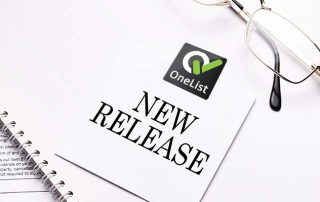 Approval Management Software OneList new release